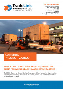 Industrial Project Cargo Industry Case Study
